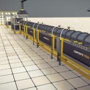 Profesjonalna linia produkcji zbrojeń kompozytowych